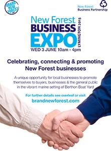 New Forest Business Expo - June 3rd 2015