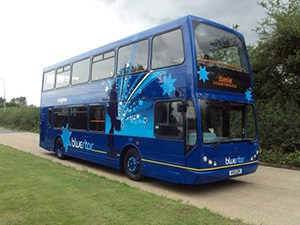 Blue Star bus
